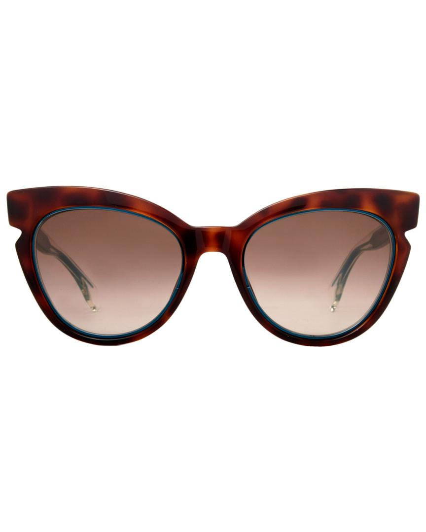 bf98f9c65769 Fendi Women s Ff0132 s 51mm Sunglasses in Brown - Lyst