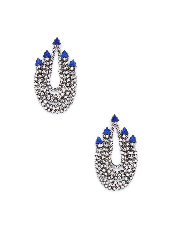 Odessa Earrings in Blue Elizabeth Cole 2I57jA