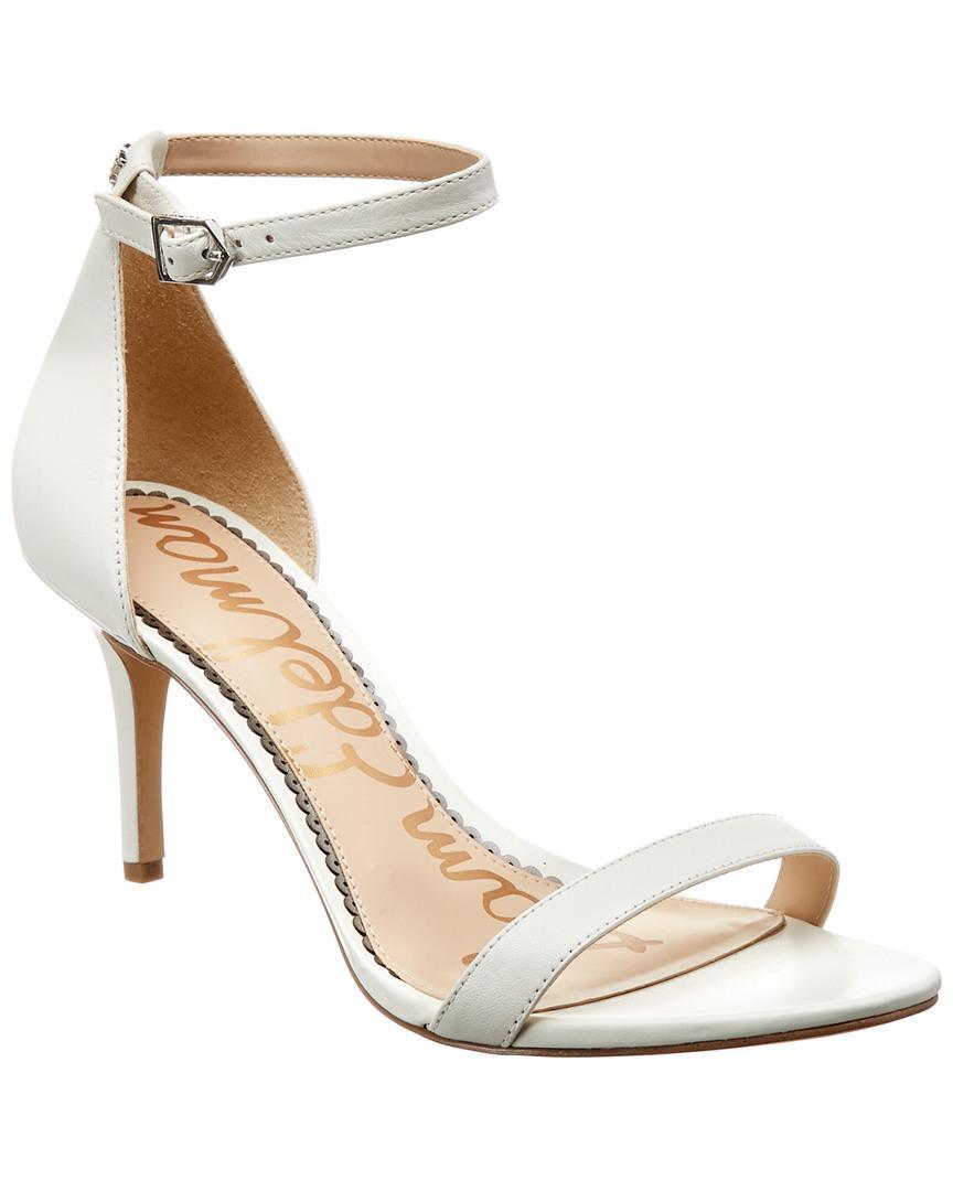 e2b937b1c52372 Lyst - Sam Edelman Patti Dress Sandal in White - Save 51%