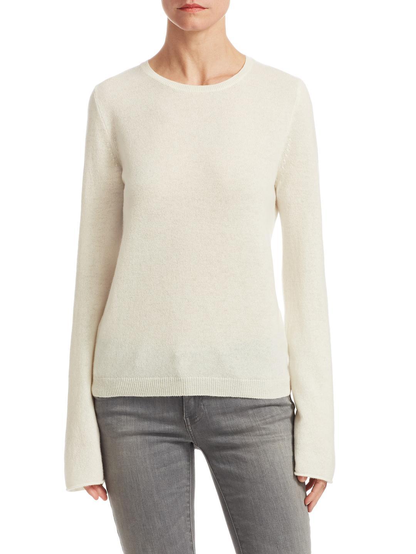 Bleu Sweater Knit Flute Sleeve Calvin Klein Fine YOq8F6