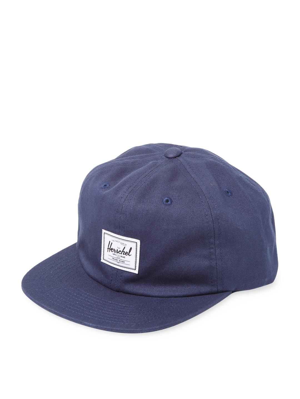 22fb384ba9d ... canada herschel supply co. mens blue albert baseball cap 9b3e7 1b592