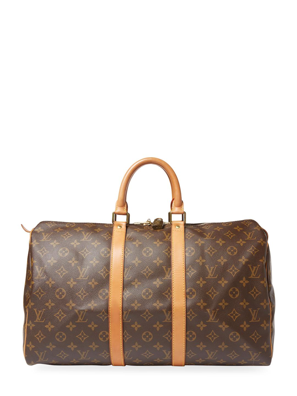 Louis Vuitton Vintage Keepall 45 Monogram Canvas Duffel Travel Bag Ct7VR