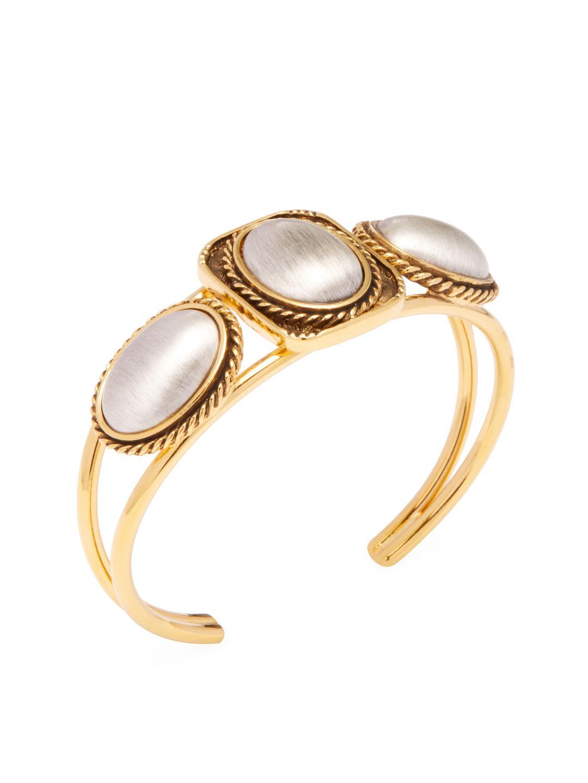 Vanessa Mooney Blondie Cuff Bracelet in Metallic Gold 0xx0U