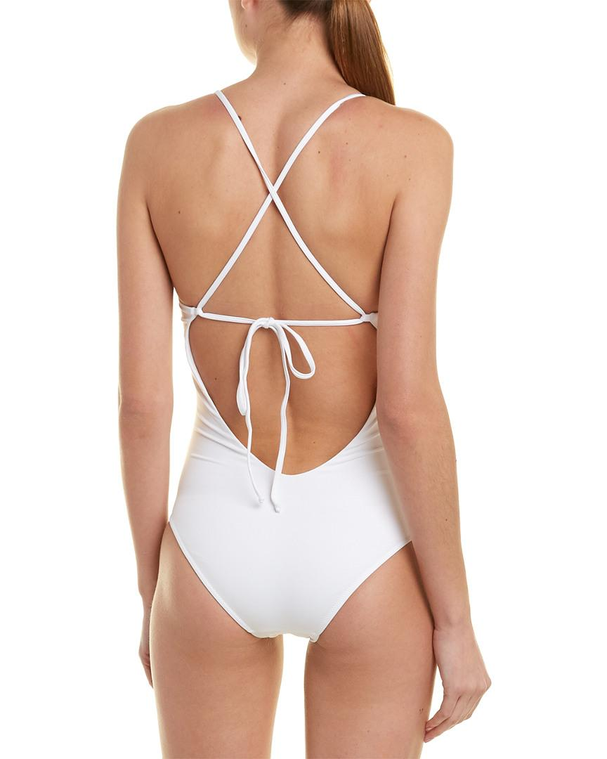 462300245d2 Lyst - Melissa Odabash Formentera One-piece in White - Save 1%