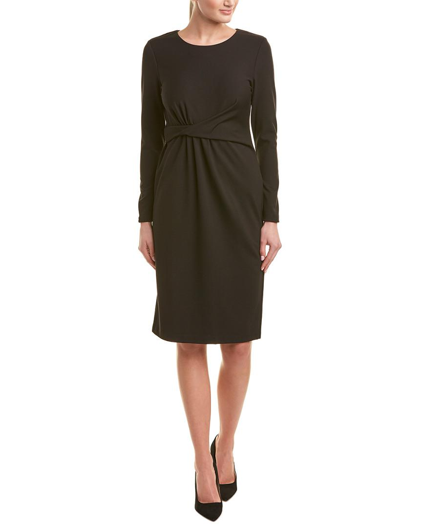 66a0f2a5c7a7 Lyst - Lafayette 148 New York Sheath Dress in Black - Save 0.5%