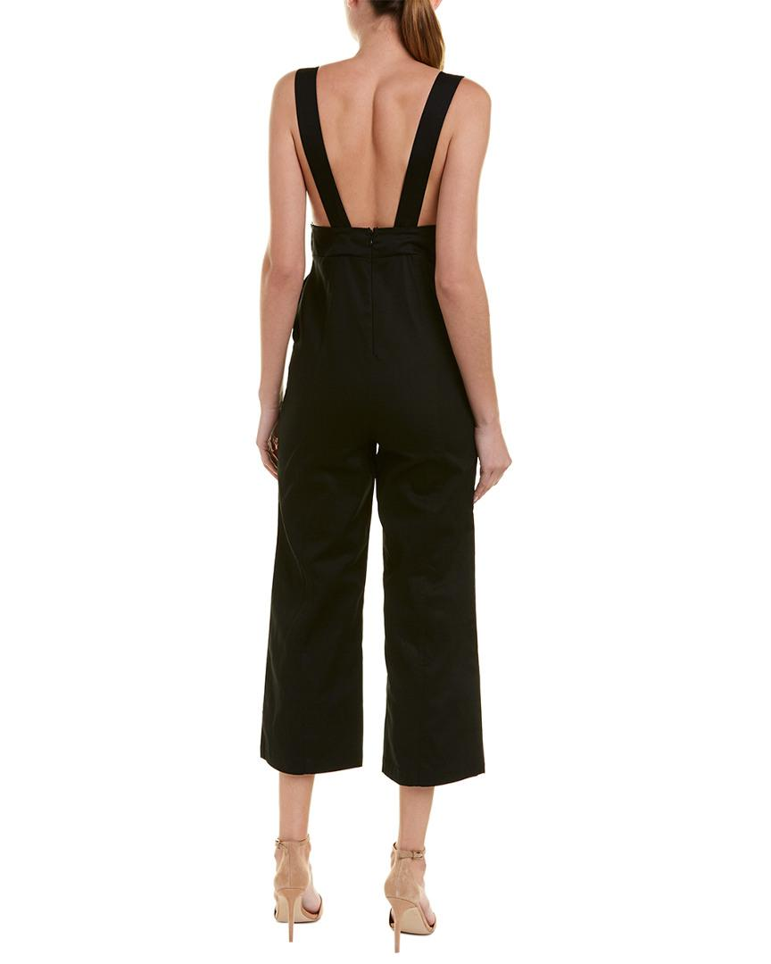 262de80bf9db Lyst - Lucca Couture Briana Jumpsuit in Black