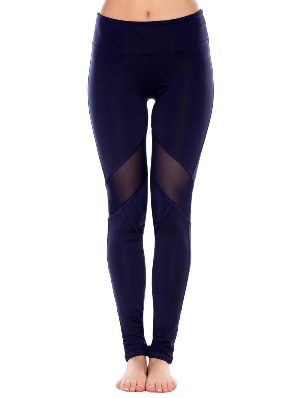 37477c183f038 Electric Yoga Knee V Line Mesh Leggings in Blue - Lyst