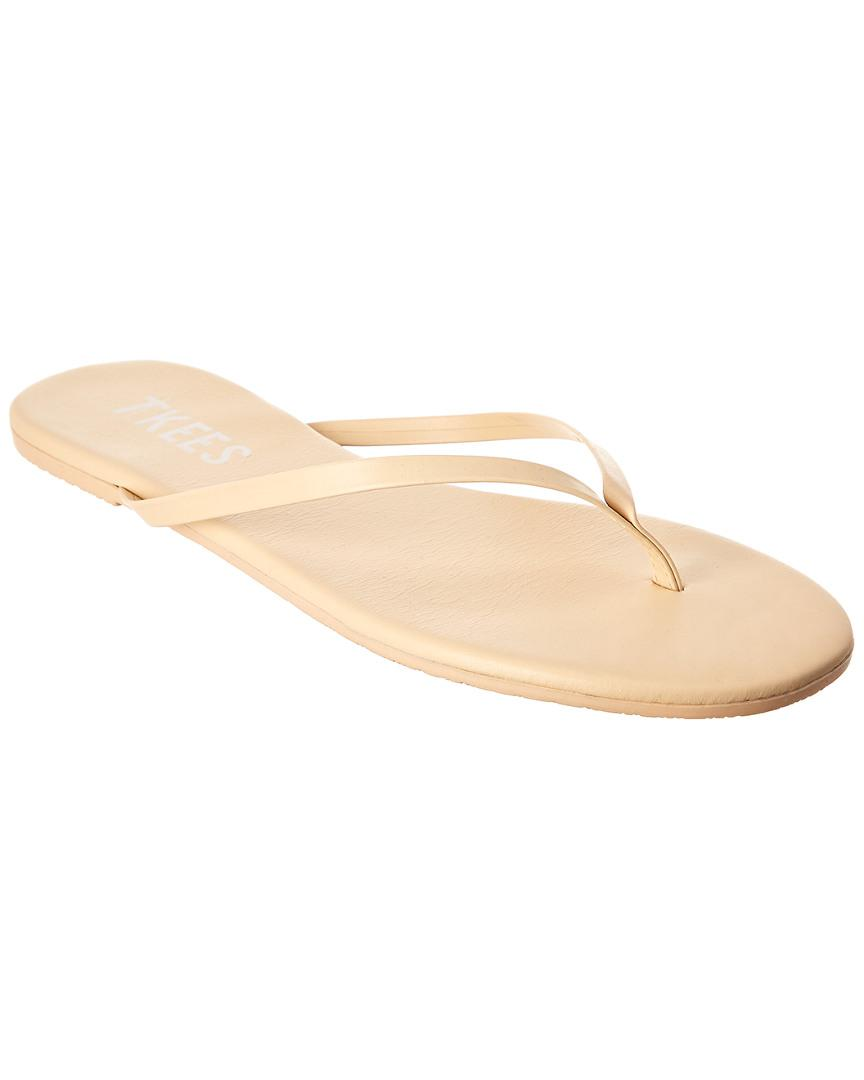 414196c2864ffa Lyst - TKEES Duos Flip Flop in Natural - Save 51%