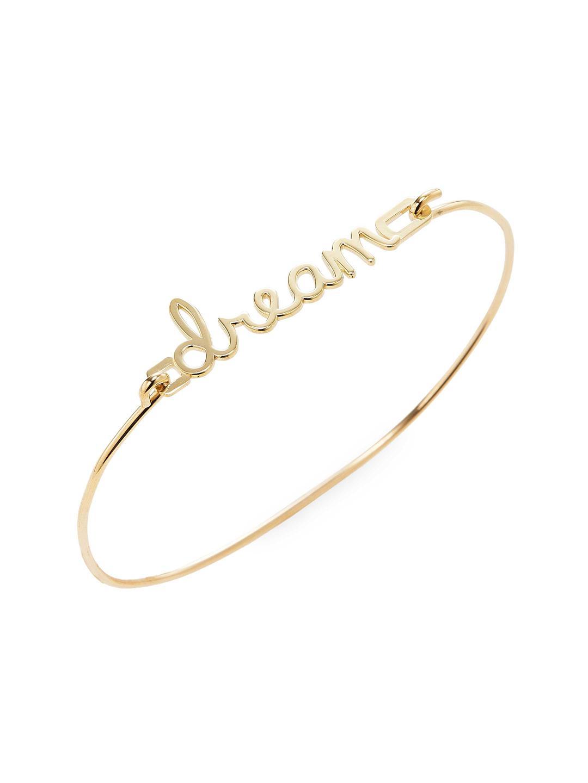 Sydney Evan 14k Pure Rose Gold Inspire Bracelet vBkIfz
