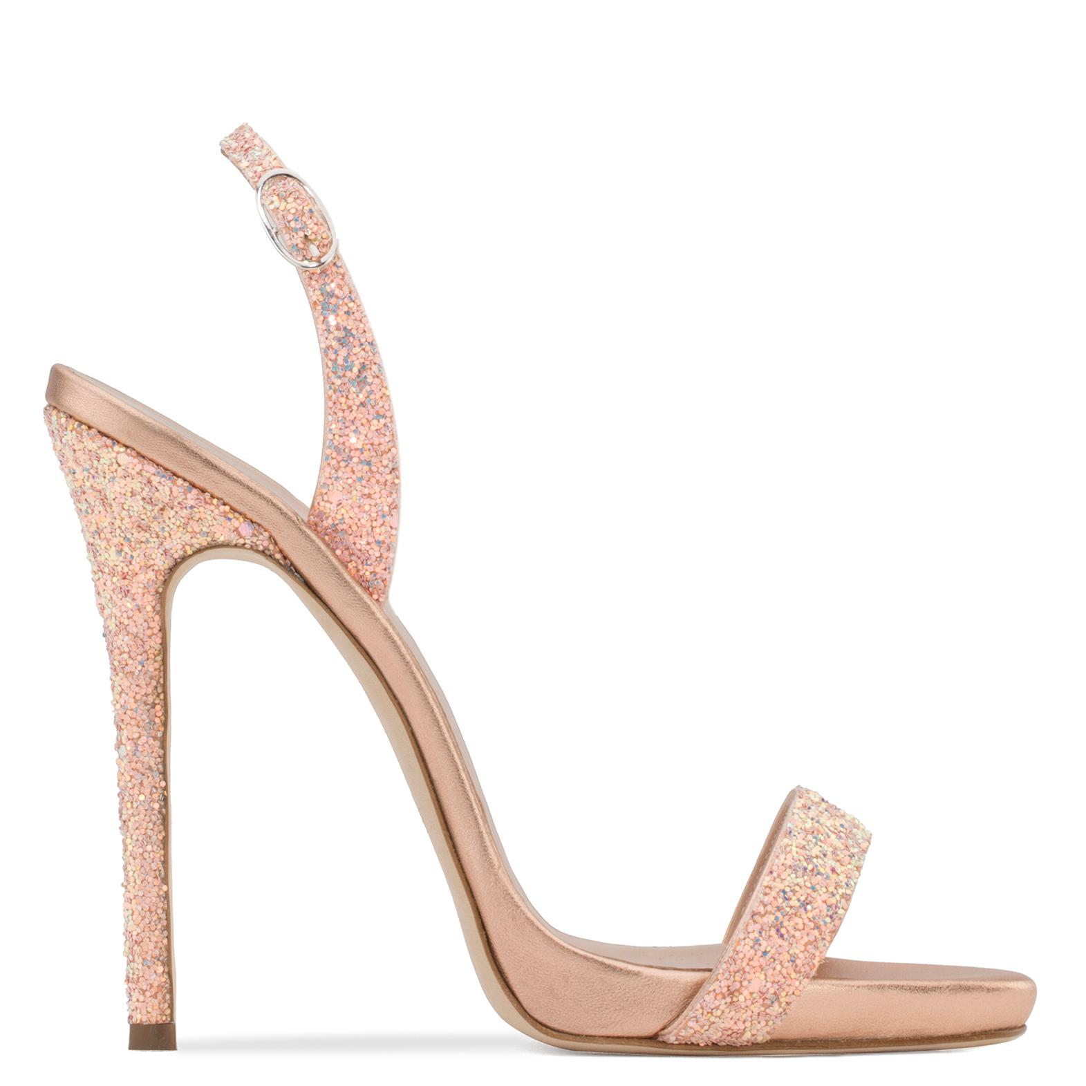Giuseppe Zanotti Glitter fabric sandal SOPHIE GLITTER WqW8c2BH9K
