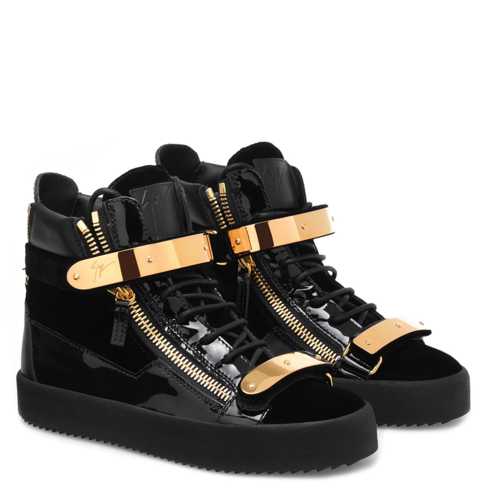 dbcd9535a5e4 Lyst - Giuseppe Zanotti Coby in Black - Save 49.944134078212294%