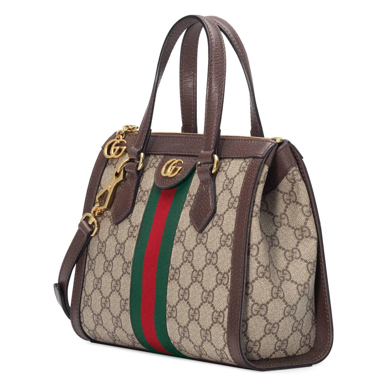 576d7bf951e5 Gucci - Green Ophidia Small Gg Tote Bag - Lyst. View fullscreen