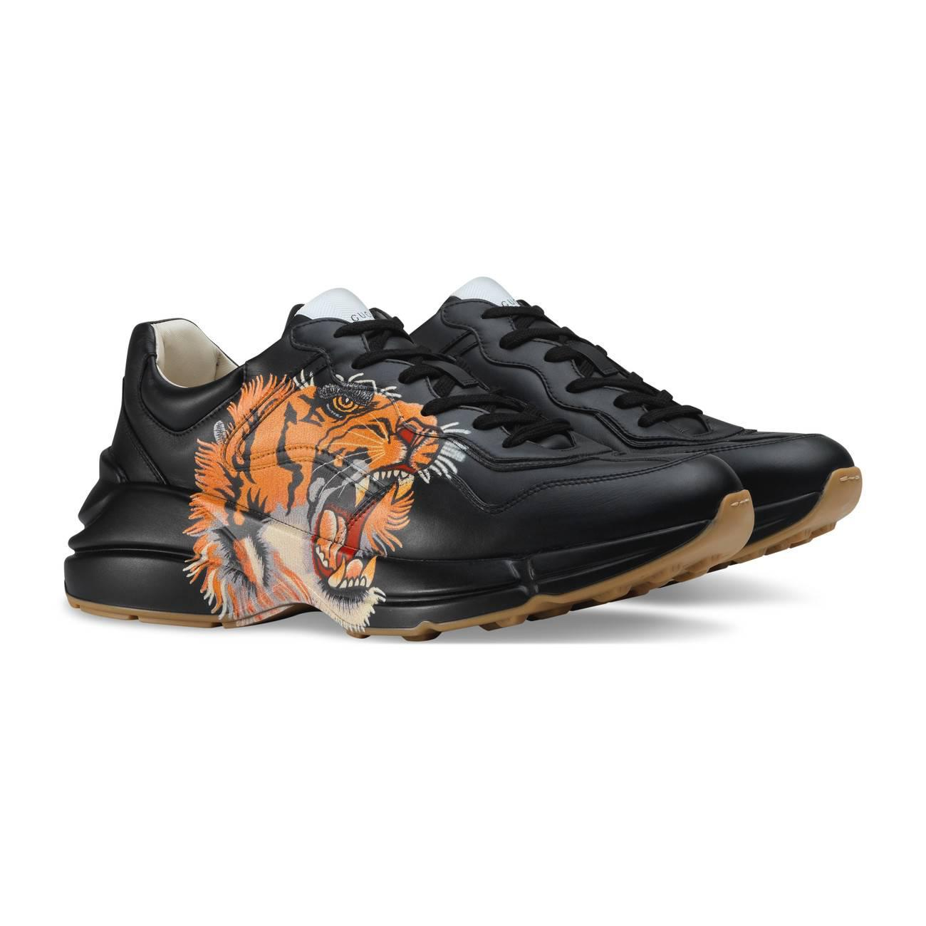 3af82c480 ... Rhyton Leather Sneakers for Men - Lyst. View fullscreen