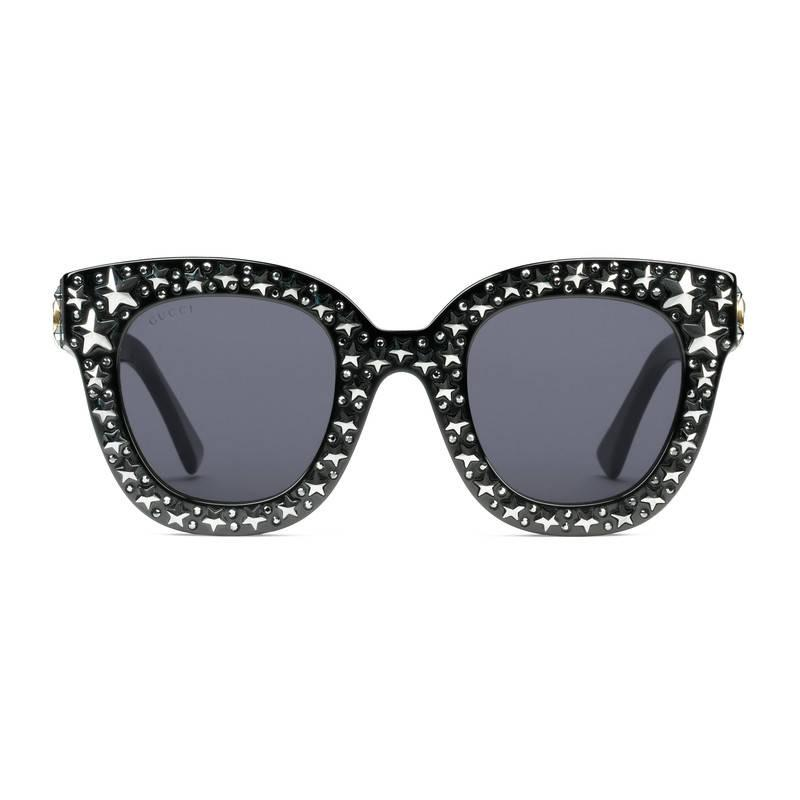 cat eye star sunglasses - Metallic Gucci mqDWqTWsIs