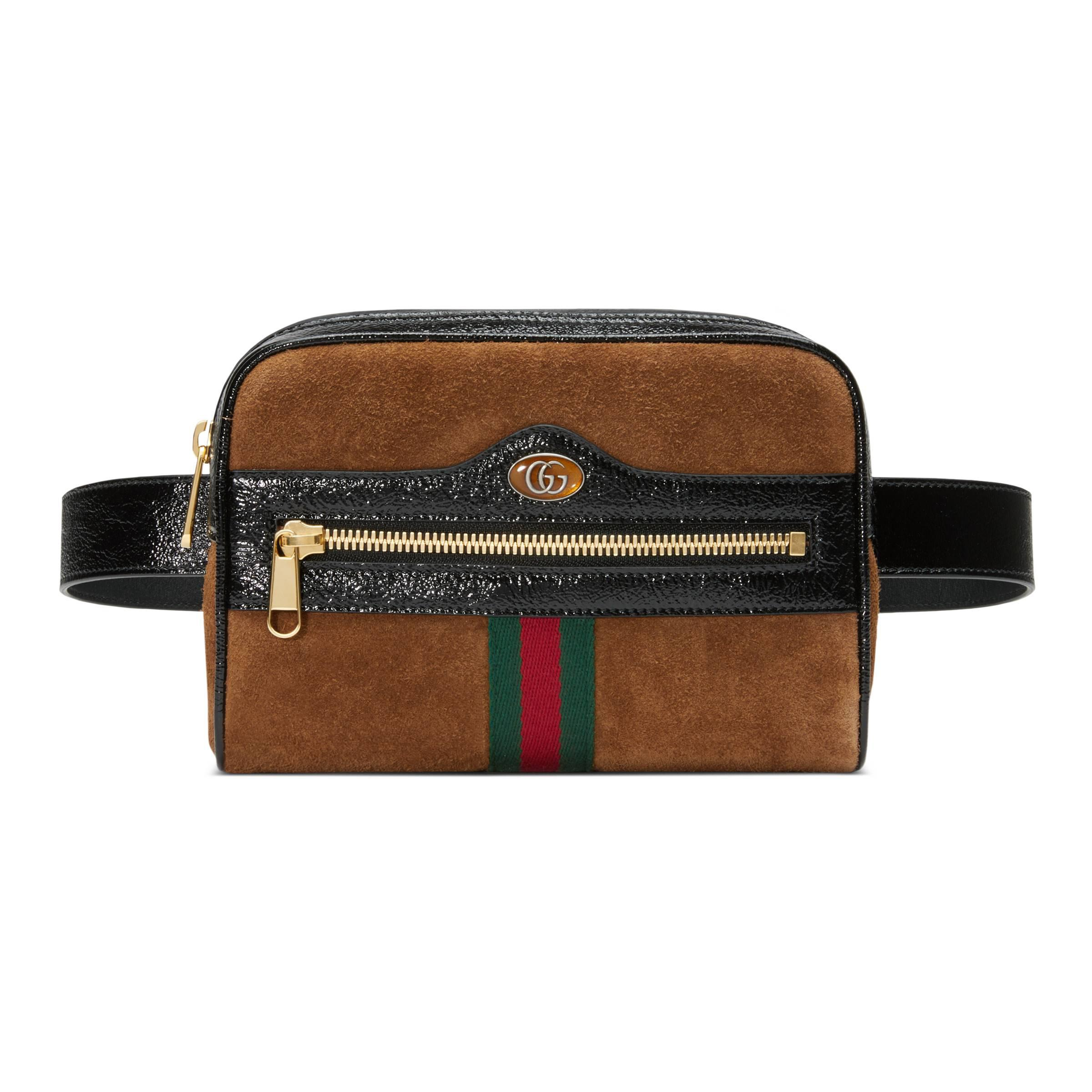 7c87c0ea5 ... Brown Ophidia Small Belt Bag - Lyst. Visit Gucci. Tap to visit site