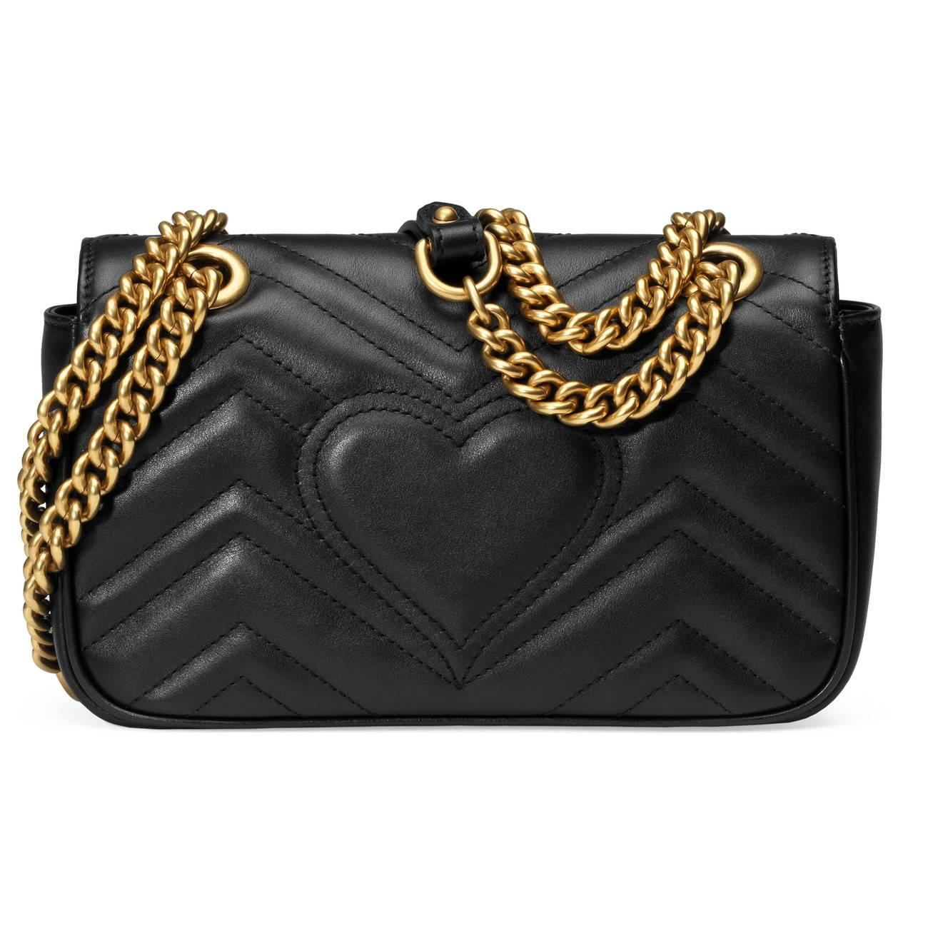 a4a0d041c6b6 Gucci - Black Gg Marmont Matelassã© Mini Bag - Lyst. View fullscreen