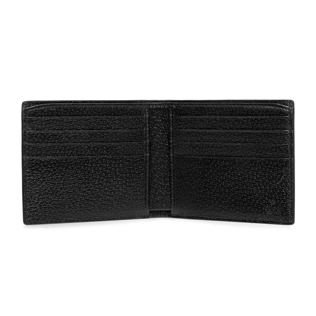 4b544474f88 ... lyst gucci animalier leather wallet in black for men save 23 ...