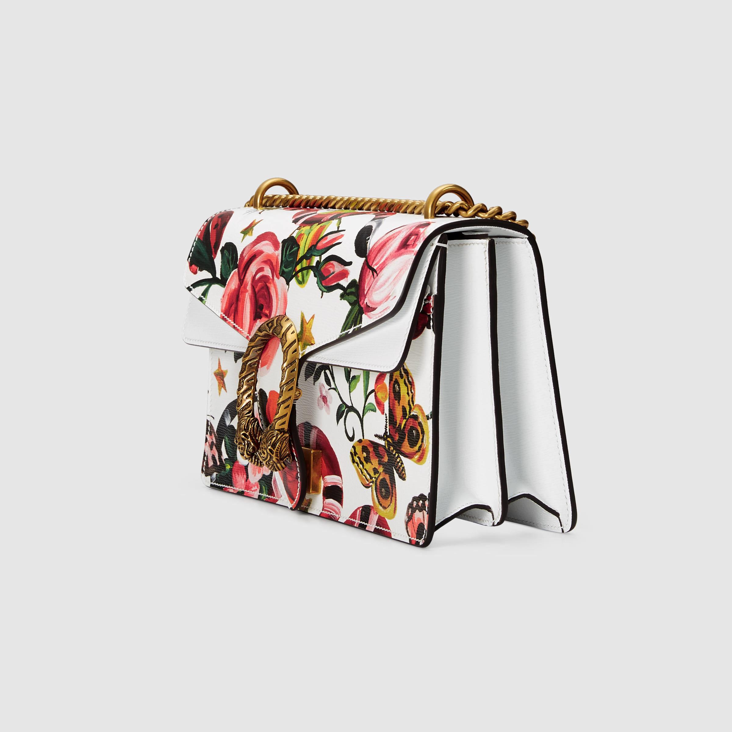 211e23ba0e7 Lyst - Gucci Garden Exclusive Dionysus Shoulder Bag