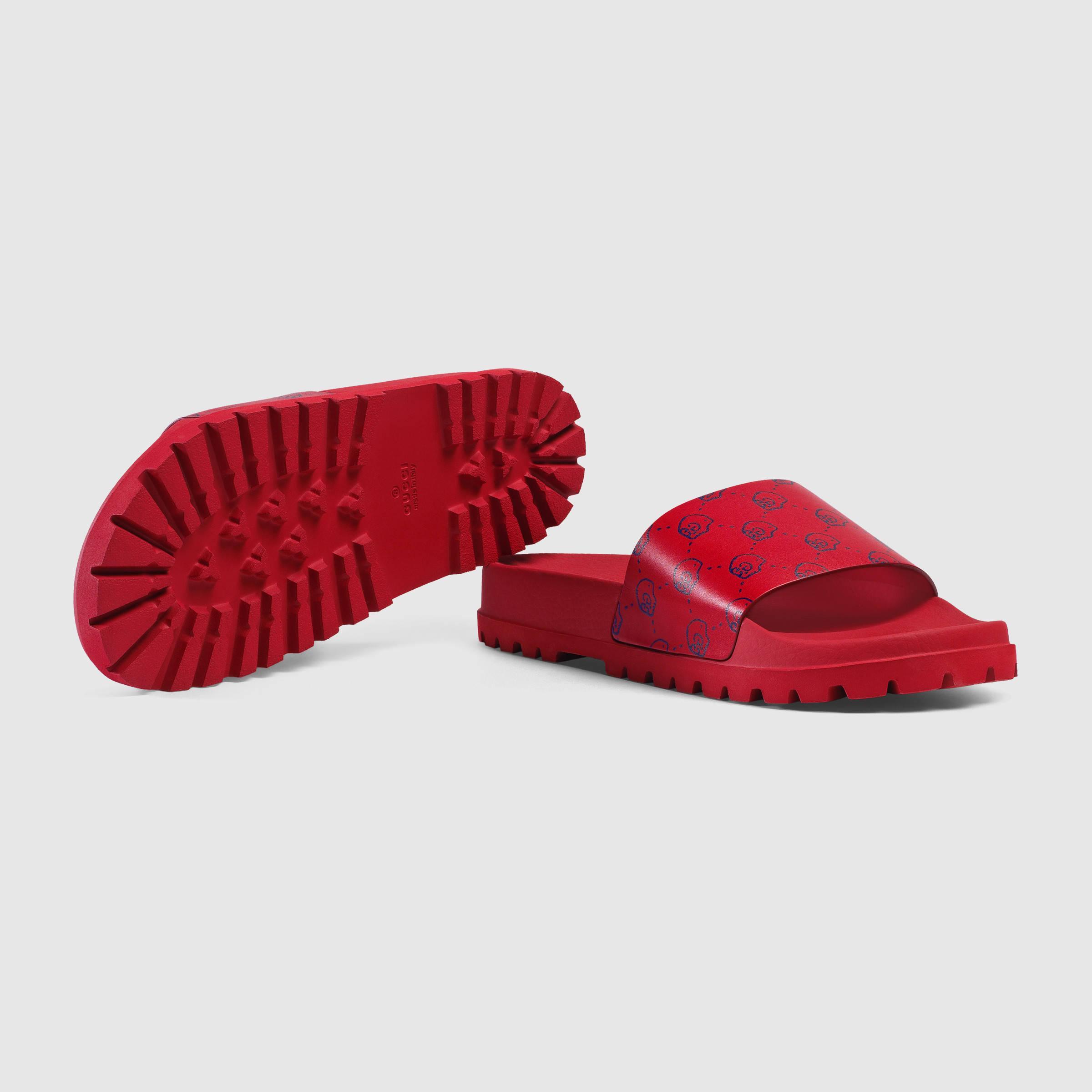 4cfba1f04c27 Gucci Ghost Slide Sandal for Men - Lyst