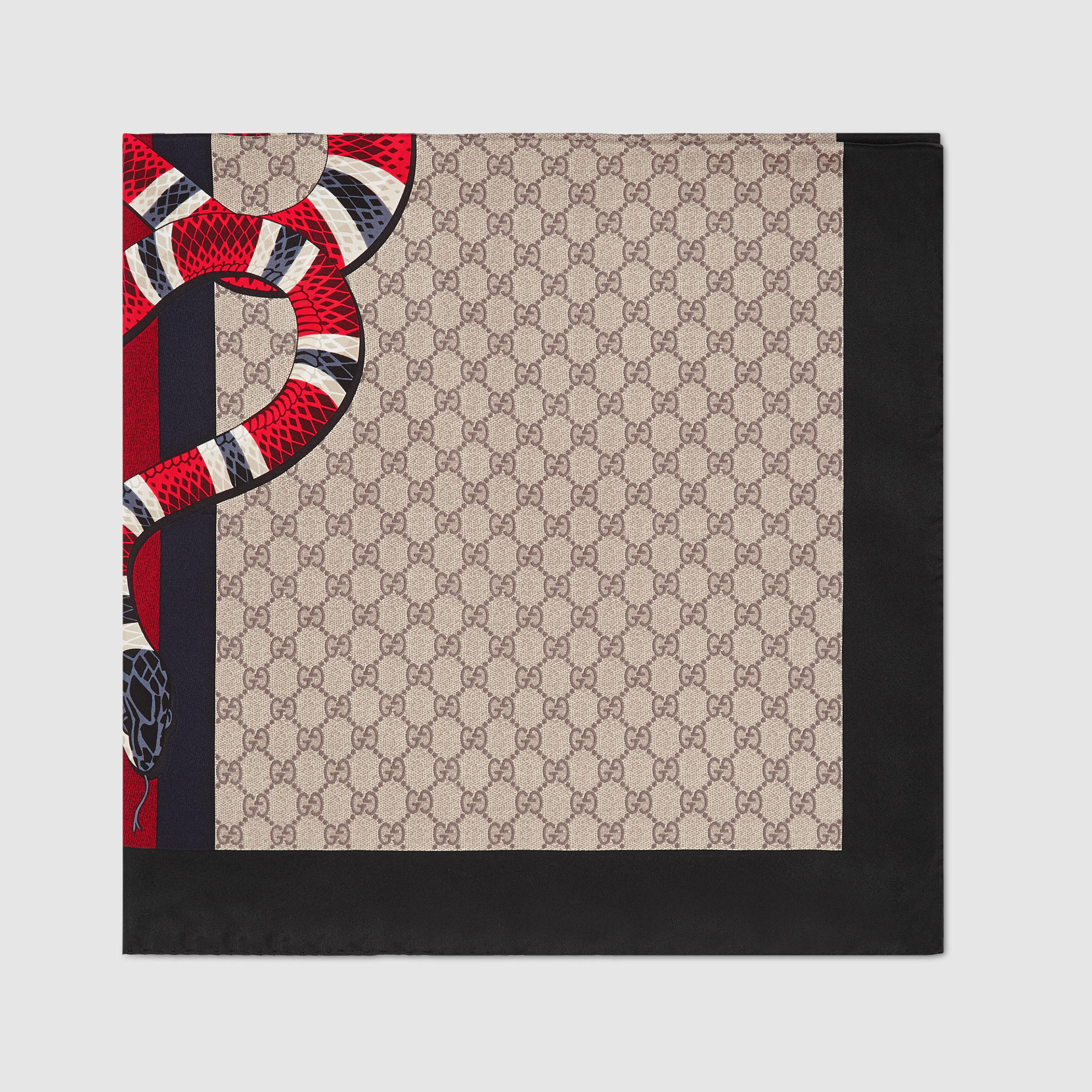 Gucci Web And Snake Print Gg Silk - 1844.8KB