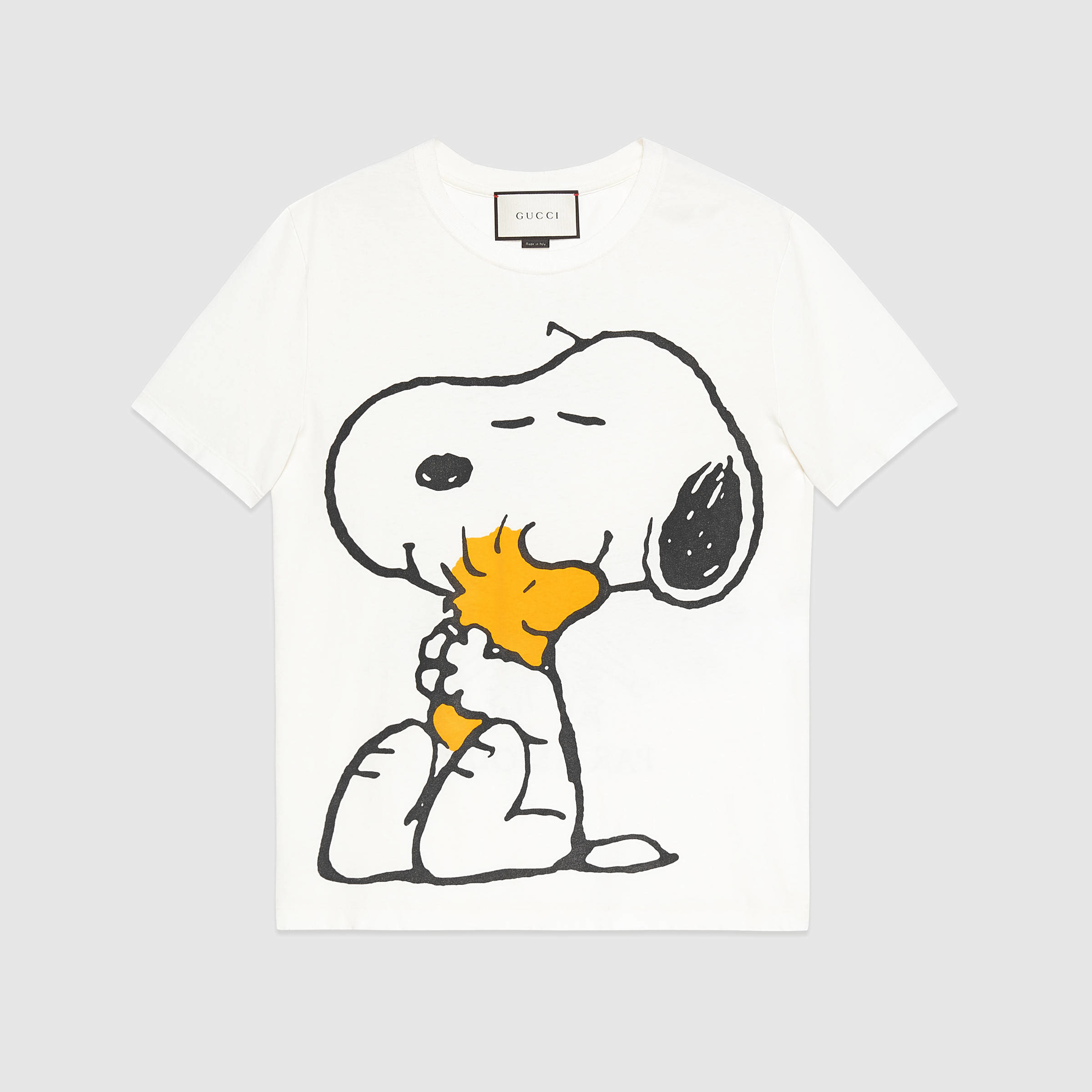 bc95e4941d8 Lyst - Gucci Washed T-shirt With Peanuts Print in White for Men