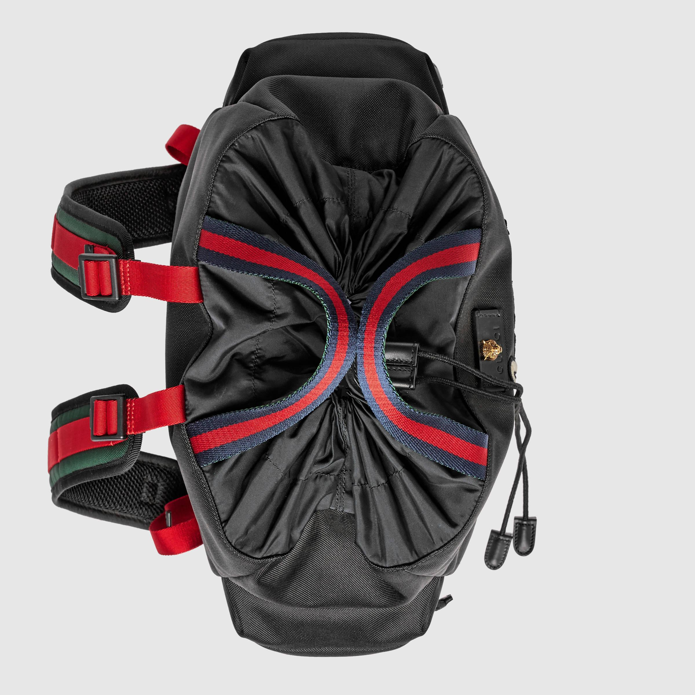 Lyst Gucci Embroidered Drawstring Backpack For Men