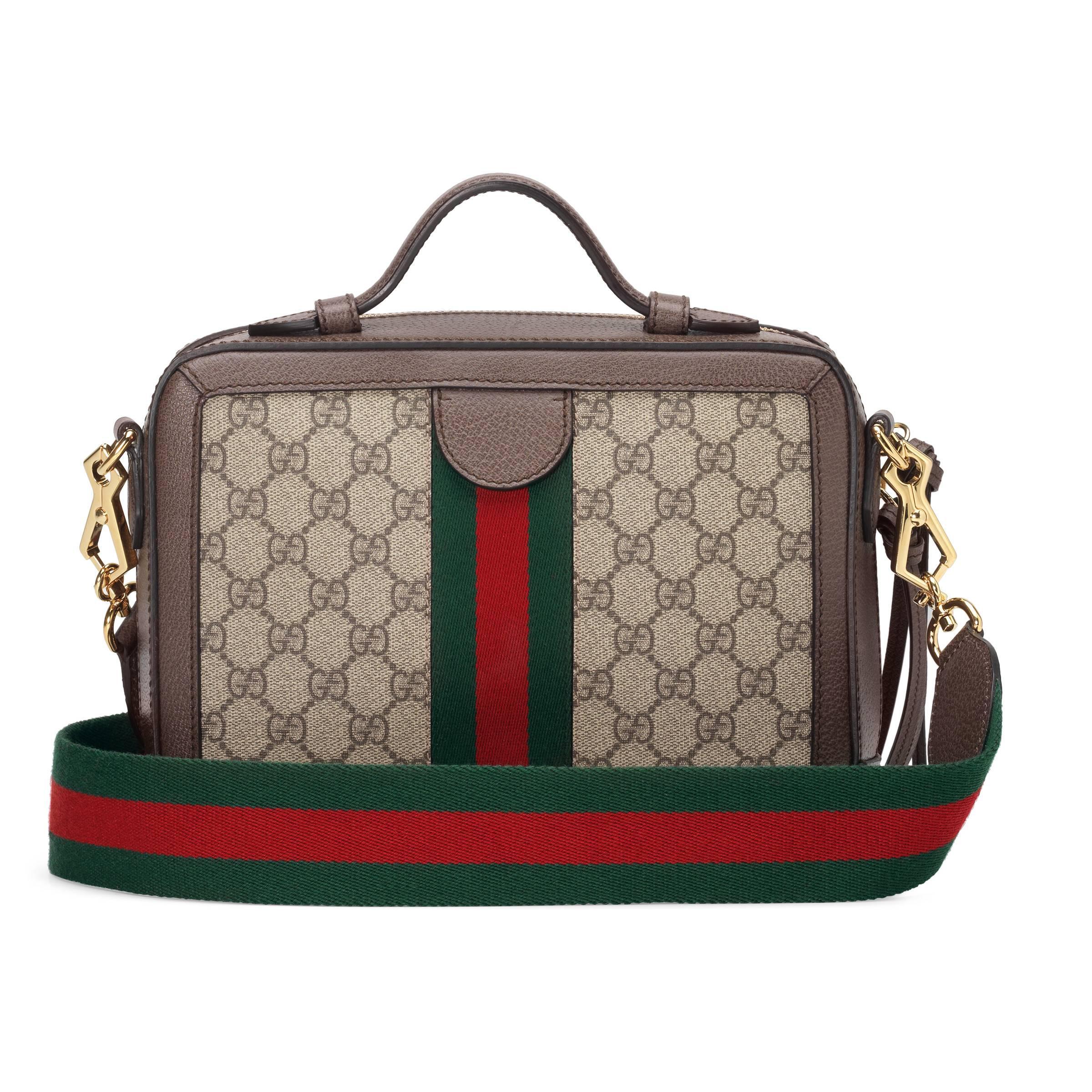 0262ec4bcfc Gucci Ophidia Small GG Shoulder Bag - Lyst