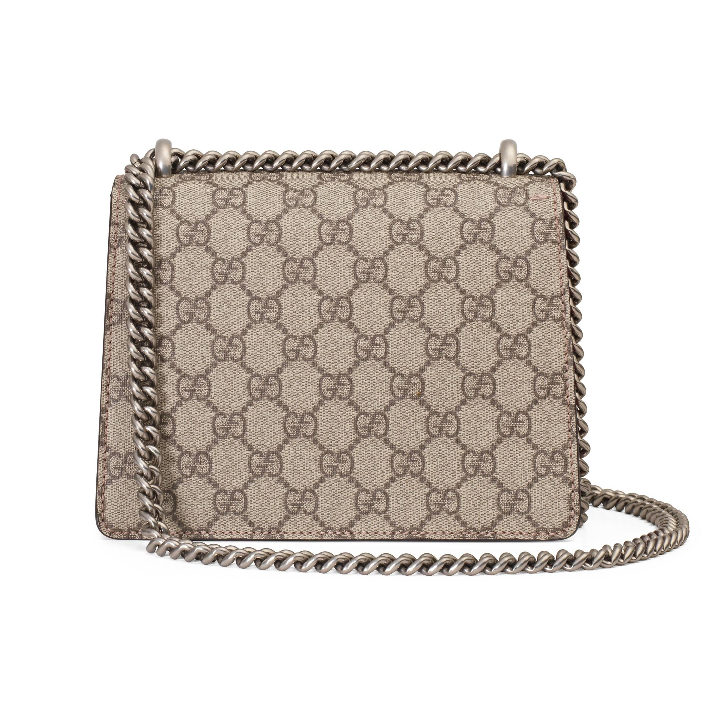 57bdb6d36 ... Dionysus GG Supreme Mini Bag - Lyst. Visit Gucci. Tap to visit site