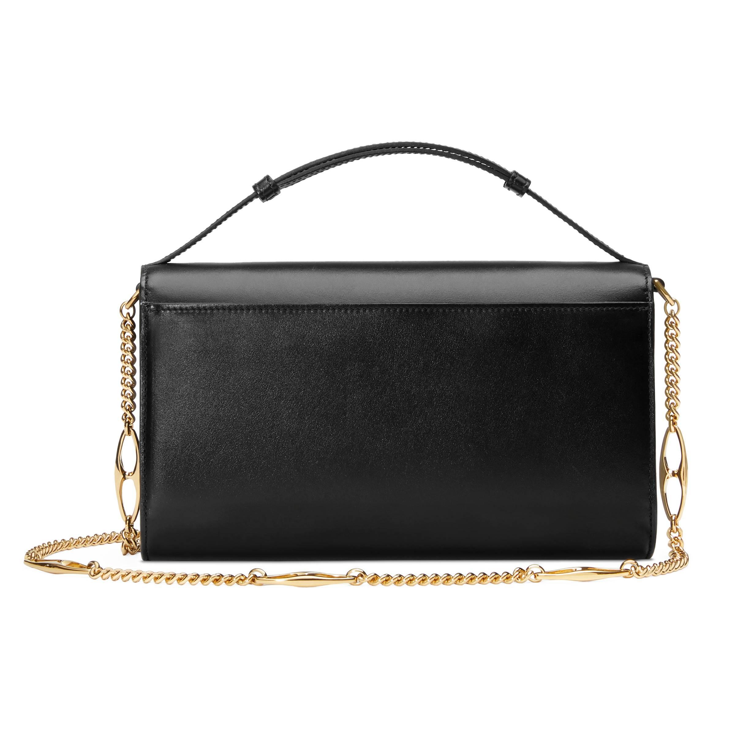 3f214bd56b2 Lyst - Petit sac porté épaule Zumi Gucci en coloris Noir