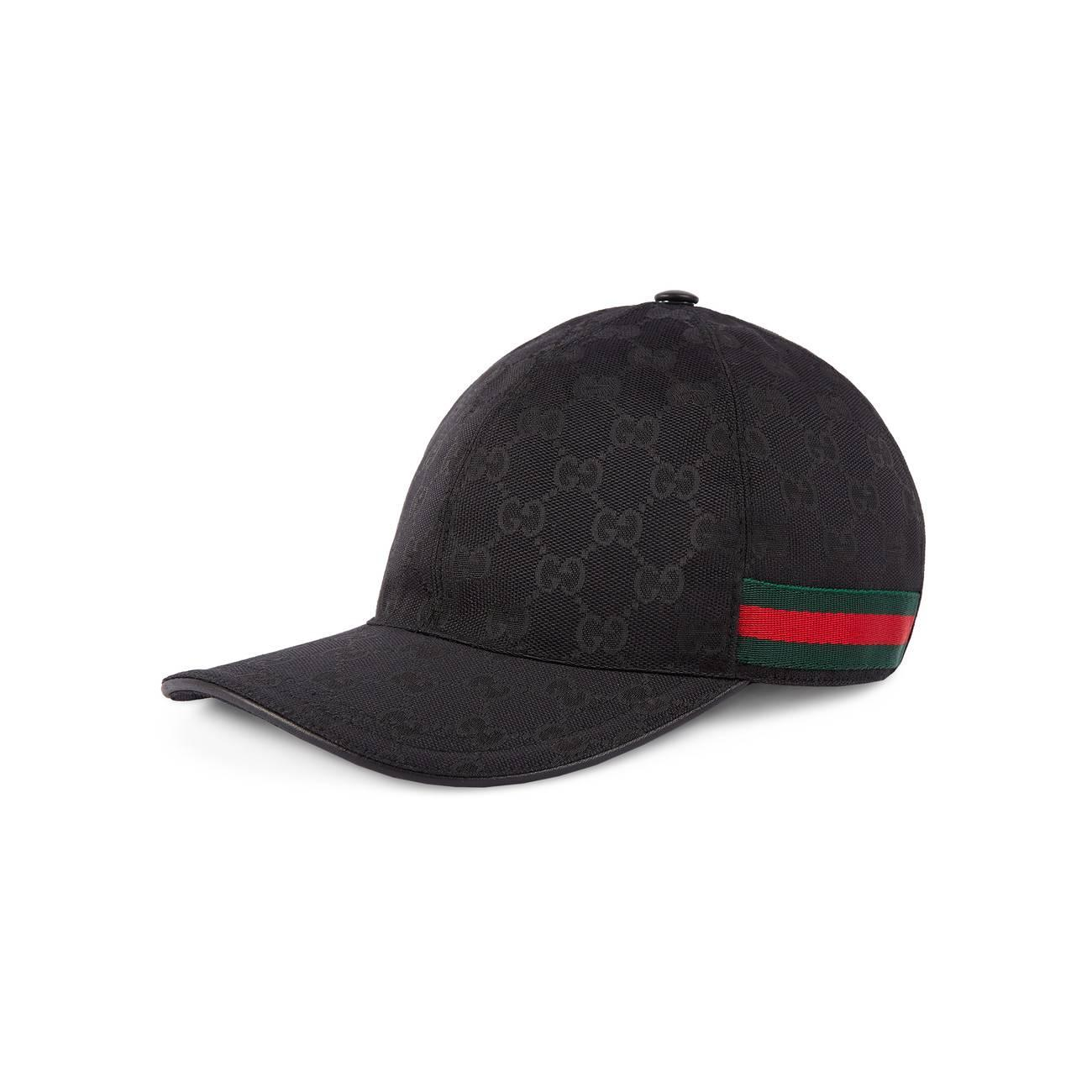 efe0258ec76b3 Gucci Original GG Canvas Baseball Hat With Web in Red for Men - Save ...