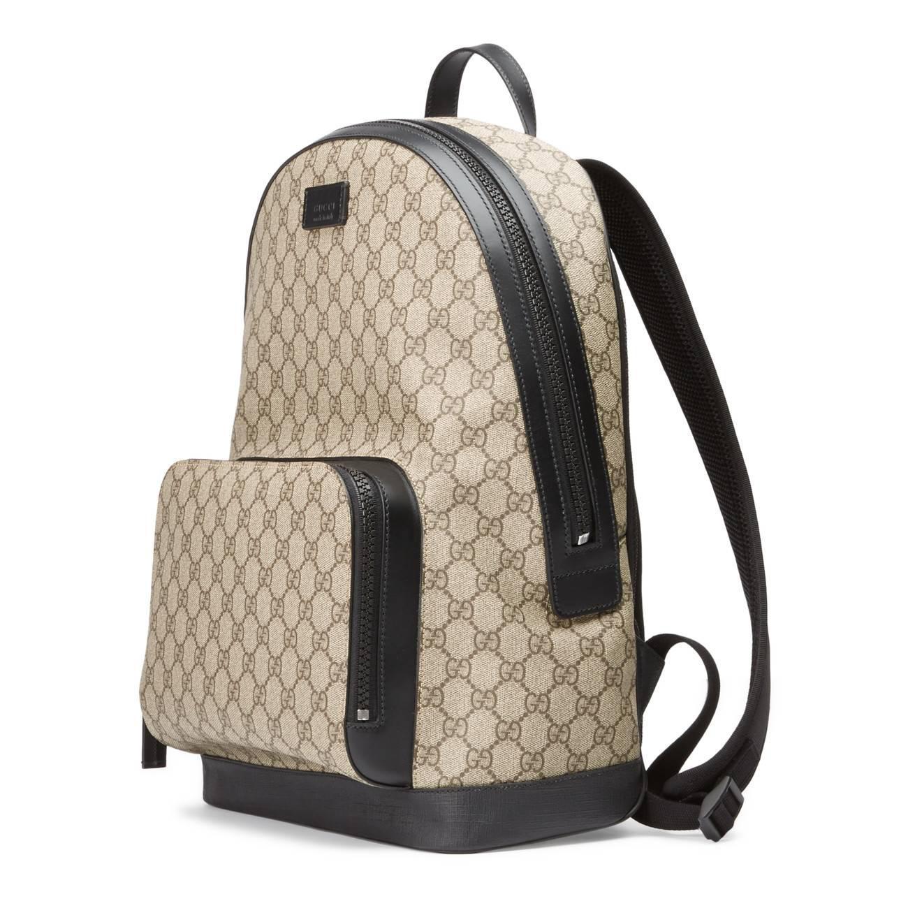 8e05758109d Gucci - Natural GG Supreme Backpack - Lyst. View fullscreen