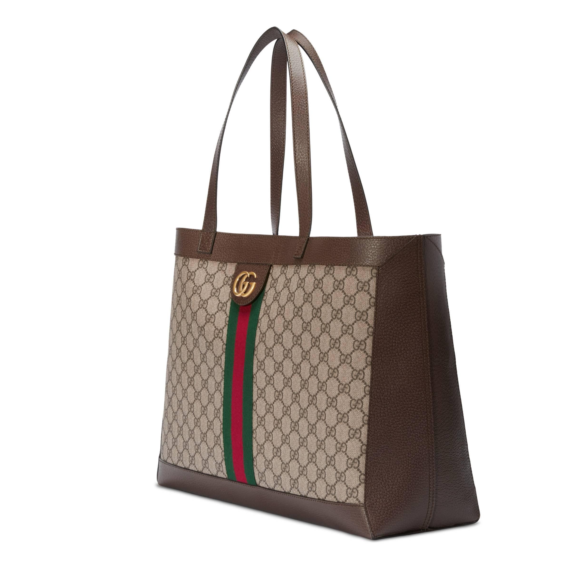 1add4baaa Gucci - Multicolor Tote Ophidia con GG y Tres Cerditos - Lyst. Ver en  pantalla completa