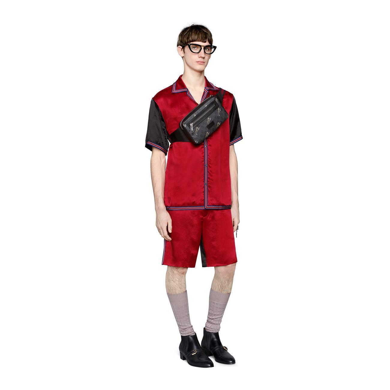 8413aa5a29f0 ... Soft GG Supreme Tigers Belt Bag for Men - Lyst. View fullscreen