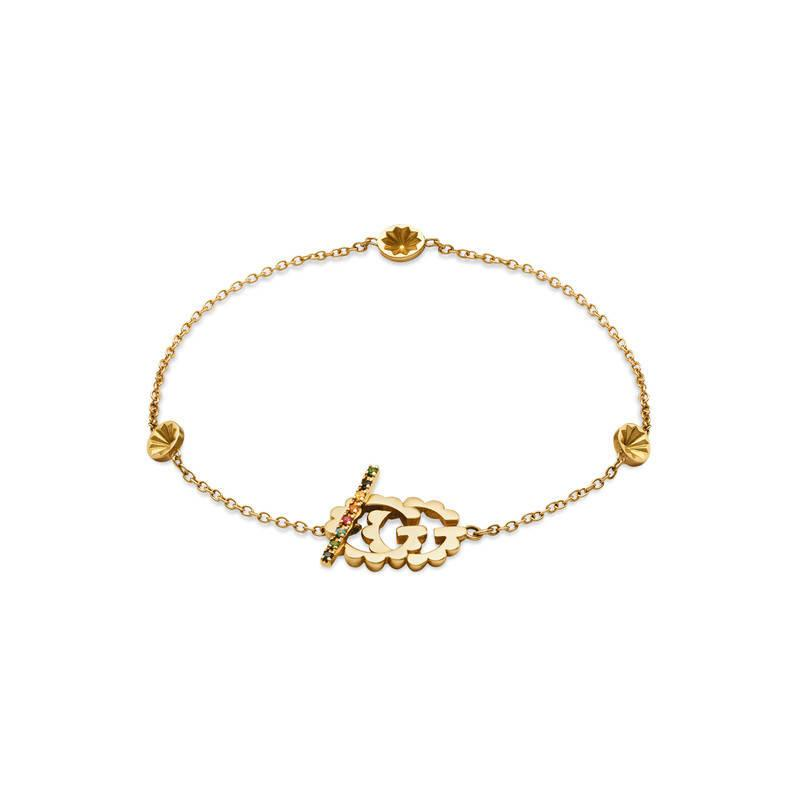 Gucci GG Running yellow gold bracelet AU1SeEn6