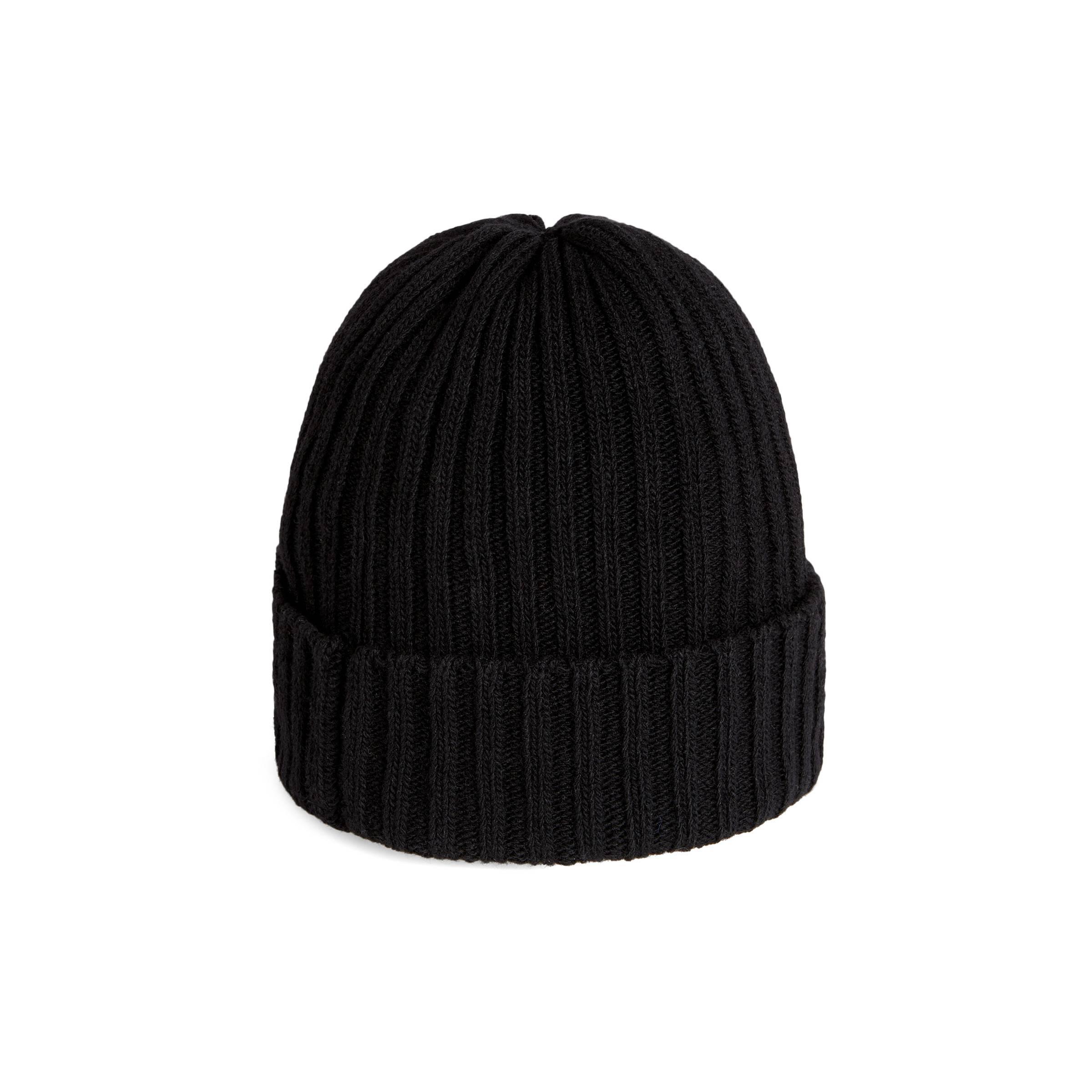 00f62879b26 Gucci Wool Hat With Pierced Heart in Black for Men - Lyst