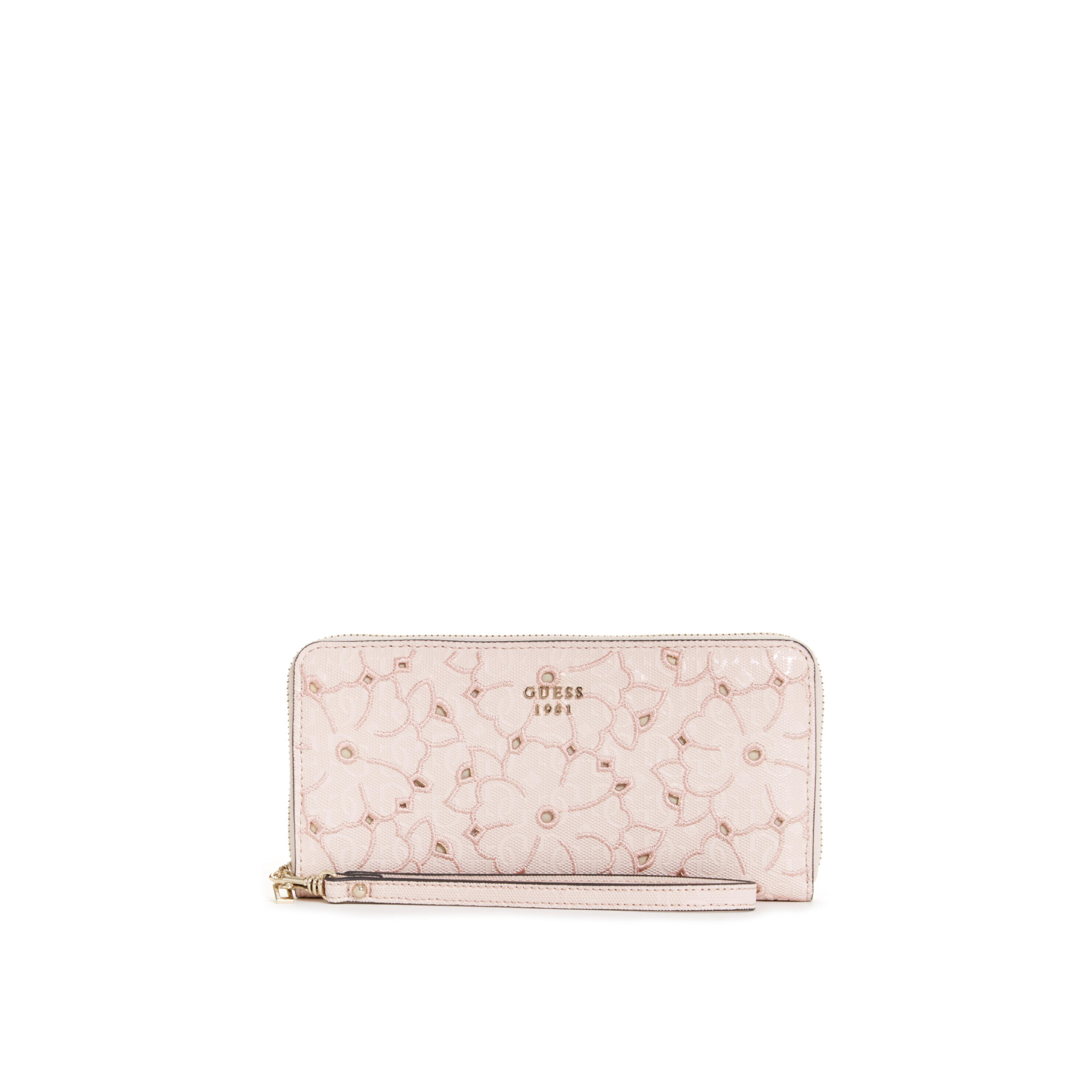 Leather Zip Around Wallet - Roses to Go by VIDA VIDA Where To Buy Order Cheap Price ftMTQFd