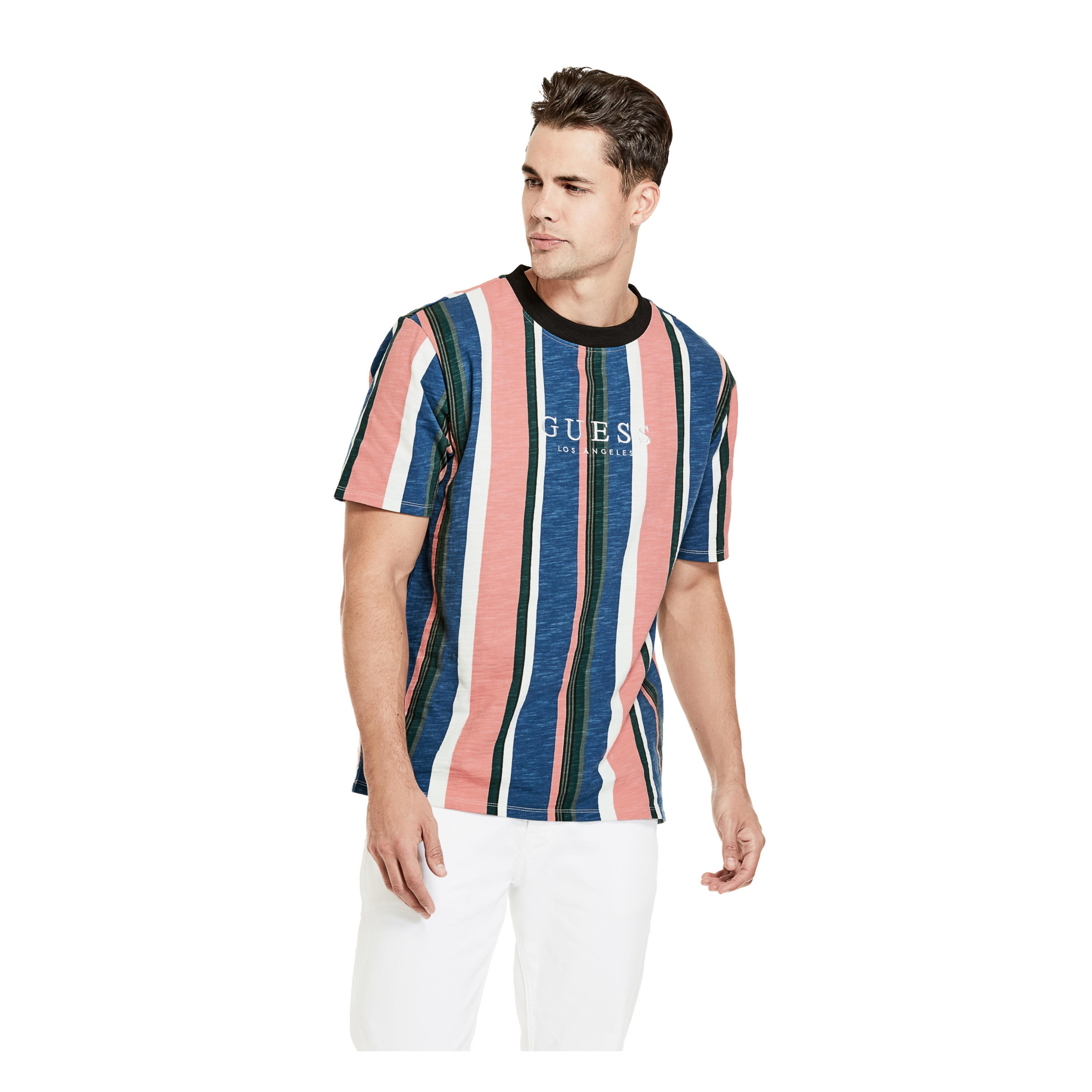 47c6b10f49 Guess Striped T Shirt David Sayer