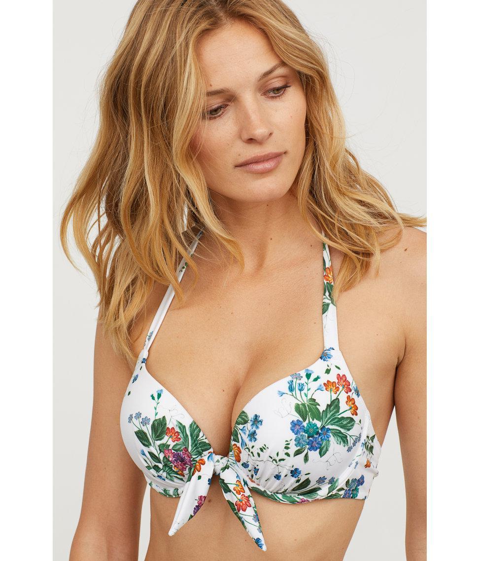 9b4207b774152 H&M Super Push-up Bikini Top - Lyst