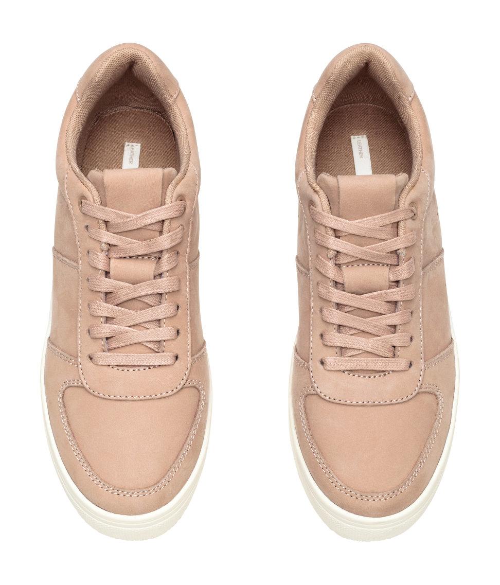 H M Black Trainers Shoes