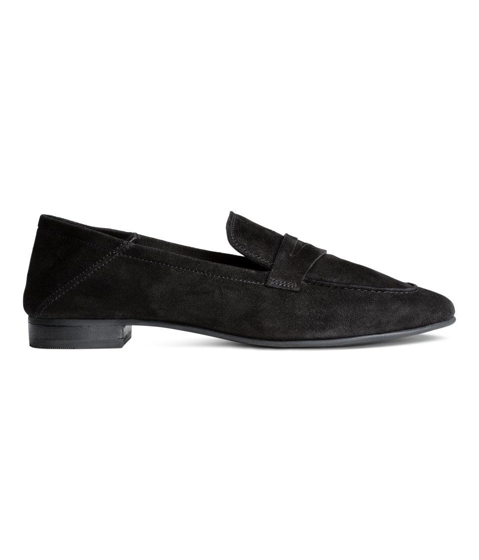 h m loafers in black lyst