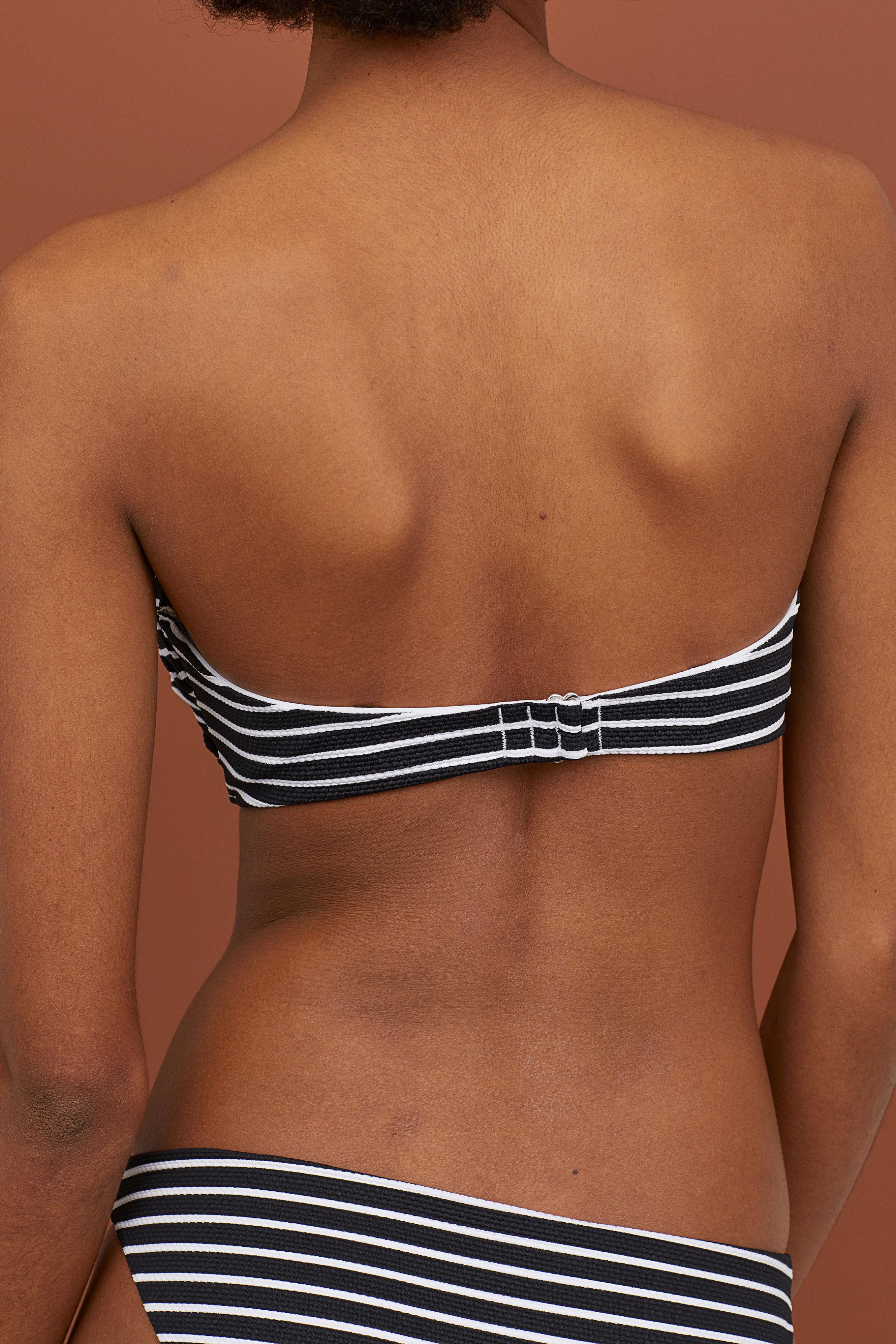 29e8159fcb H M - Black Balconette Bikini Top - Lyst. View fullscreen