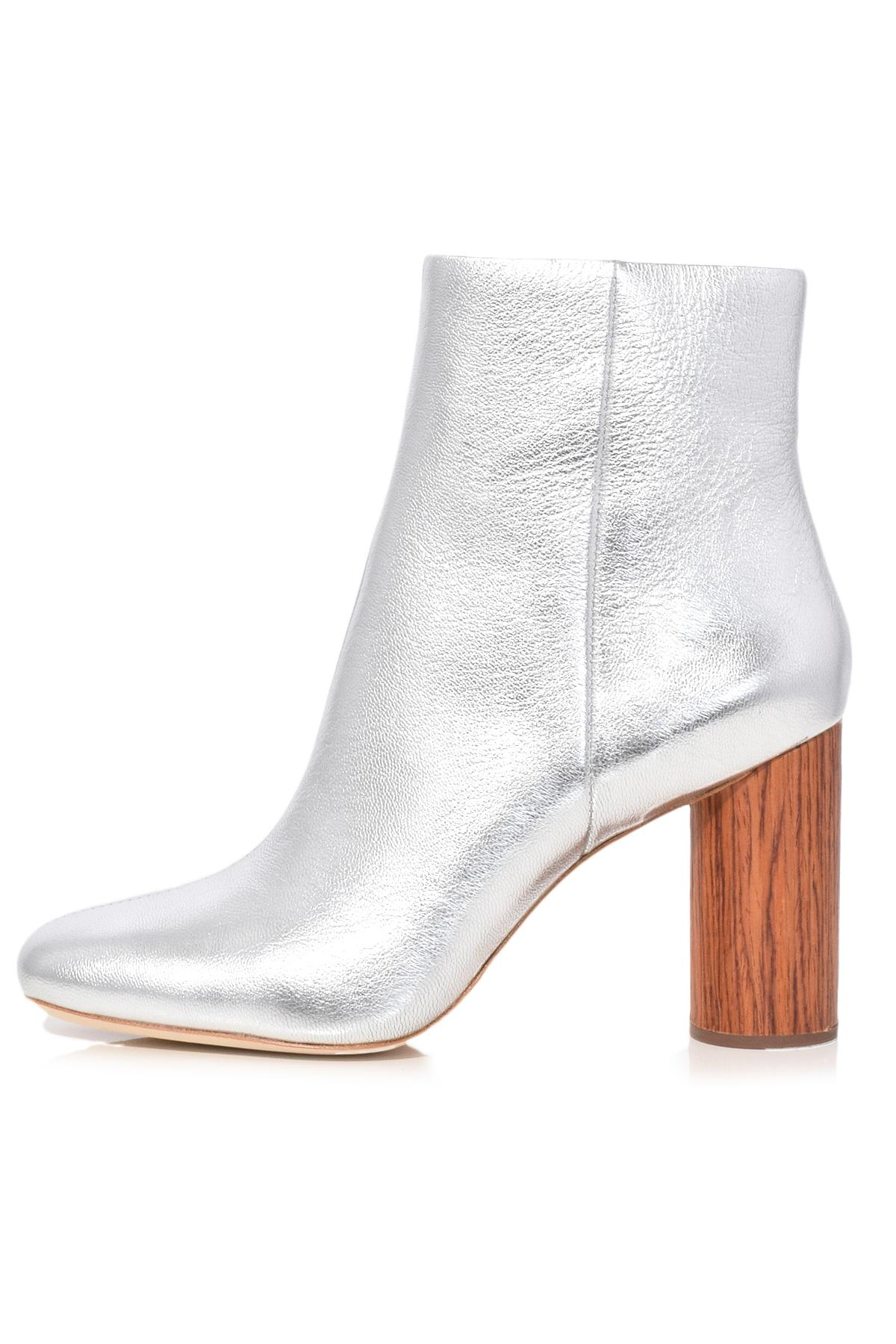 Loeffler Randall Metallic Wedged Boots 100% authentic for sale purchase WjanwFLB