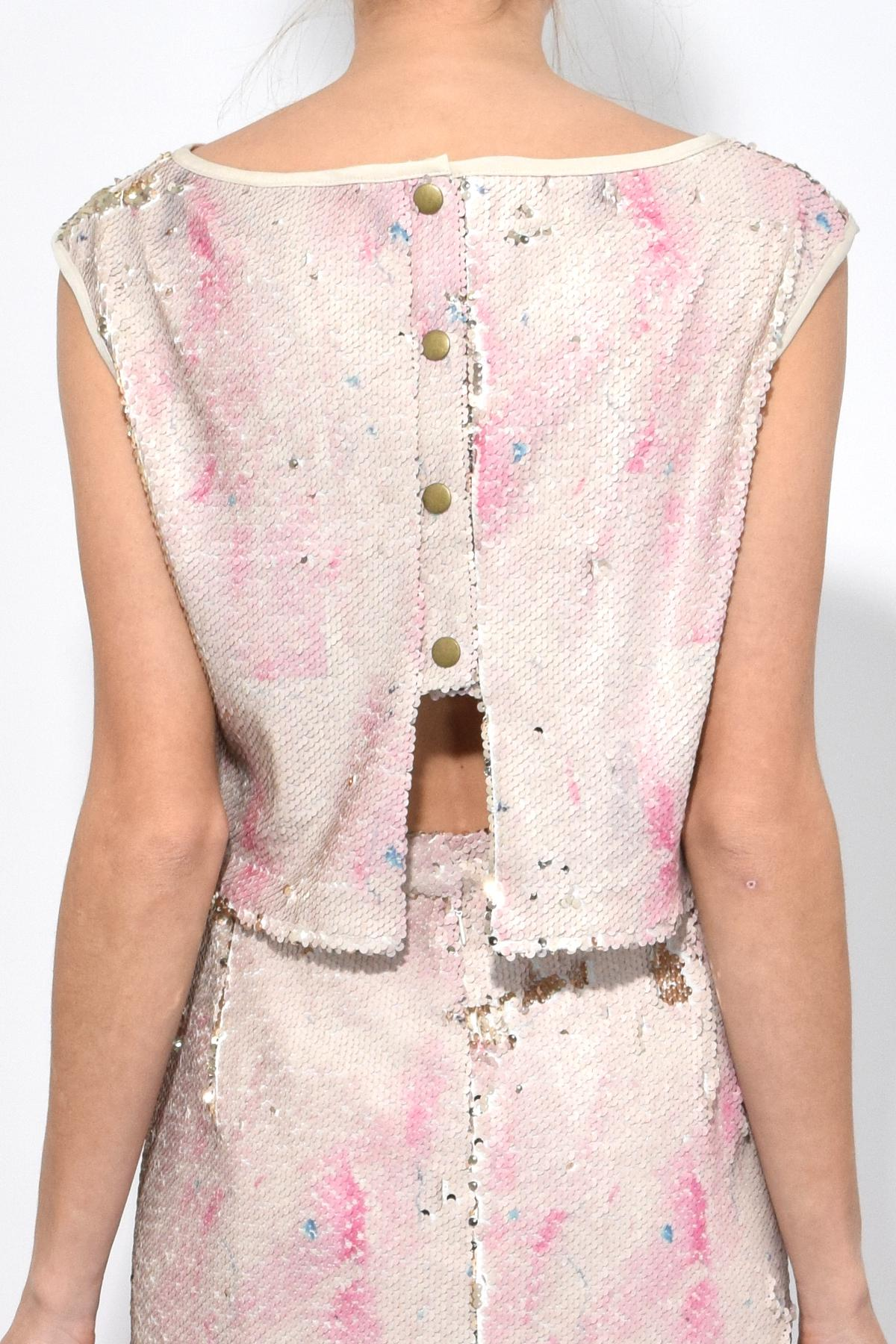 9e46d22d Rachel Comey Lady Top In Pink Clouds in Pink - Lyst
