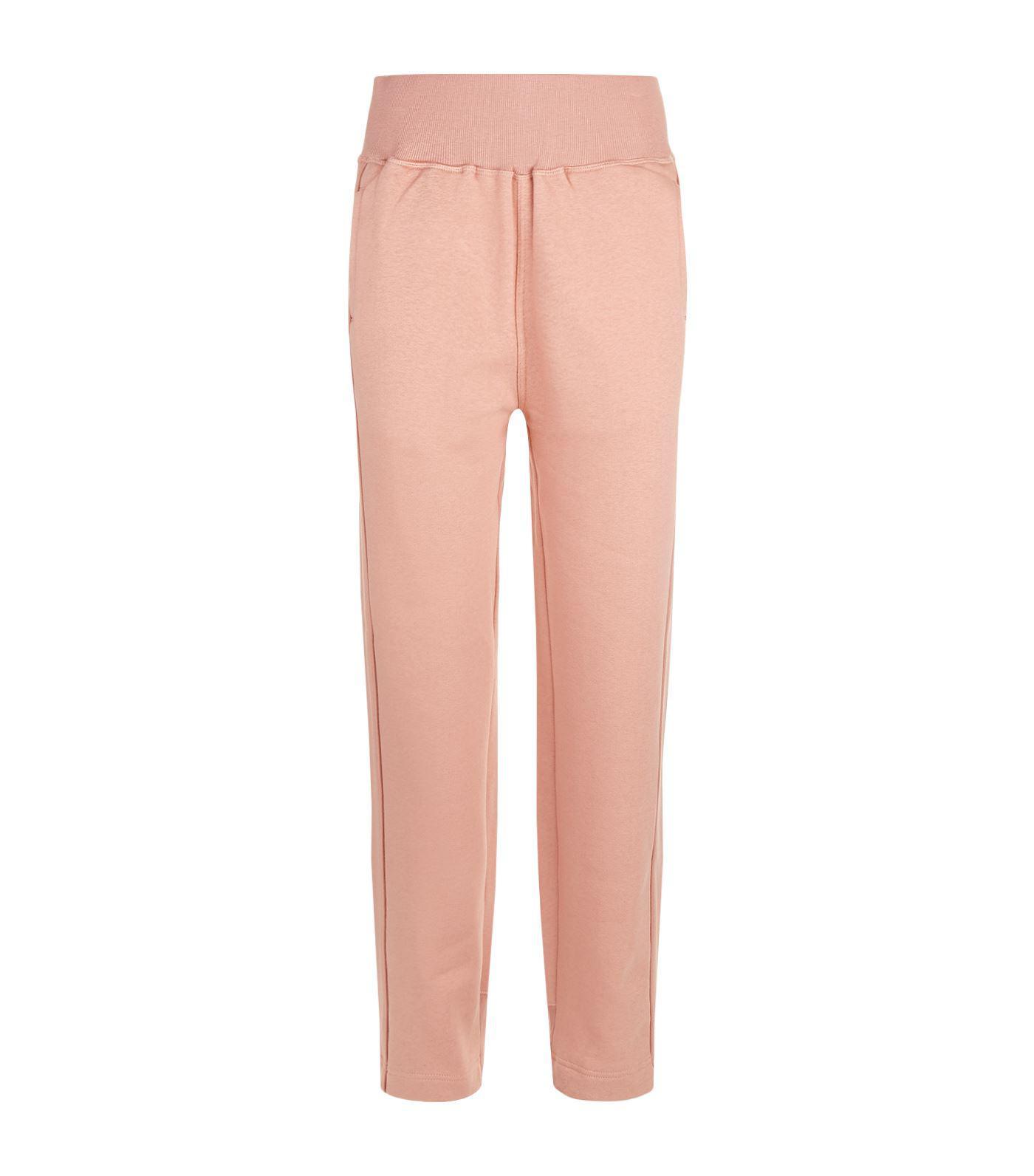 01b08f96b99c60 adidas By Stella McCartney Comfort Sweatpants in Pink - Lyst