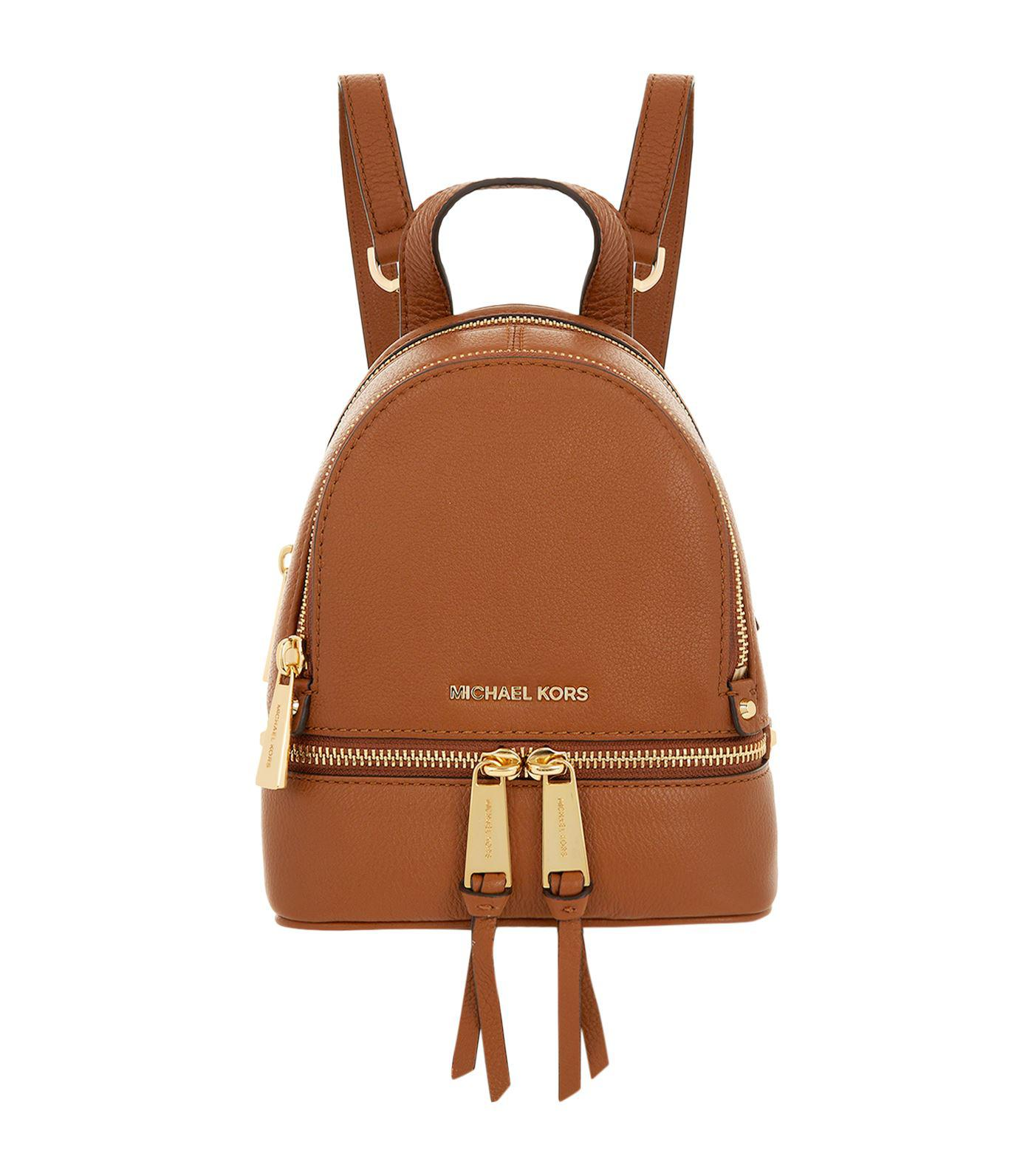 307bbe3394d8 Gallery. Previously sold at: Harrods · Women's Mini Backpack Women's Michael  By Michael Kors Rhea
