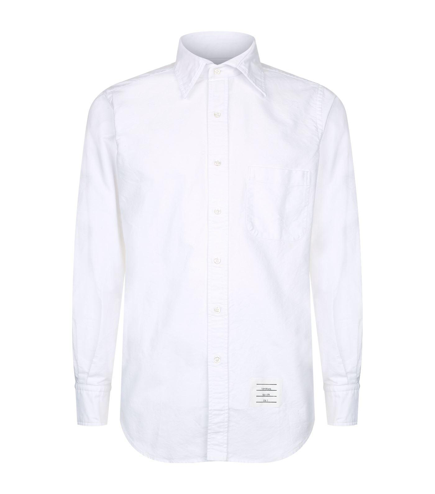 Lyst Thom Browne Detachable Collar Oxford Shirt In White For Men