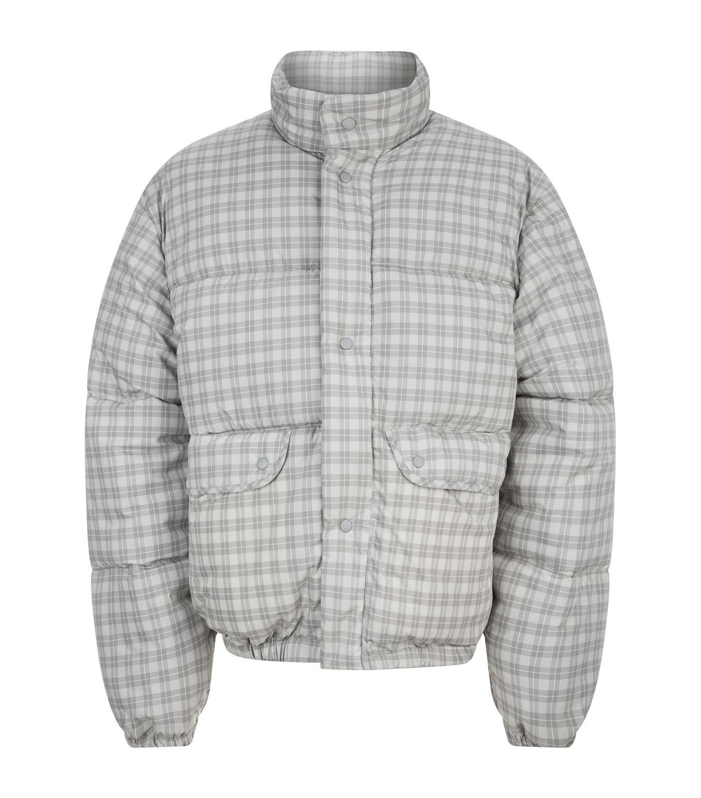 Legacy Check for Lyst Jacket Gray Oversized Men Lenox Our in Puffer Iqzwzr54