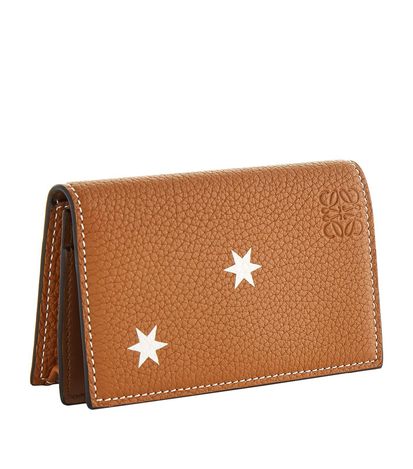Lyst loewe star business card holder in brown loewe womens brown star business card holder reheart Choice Image