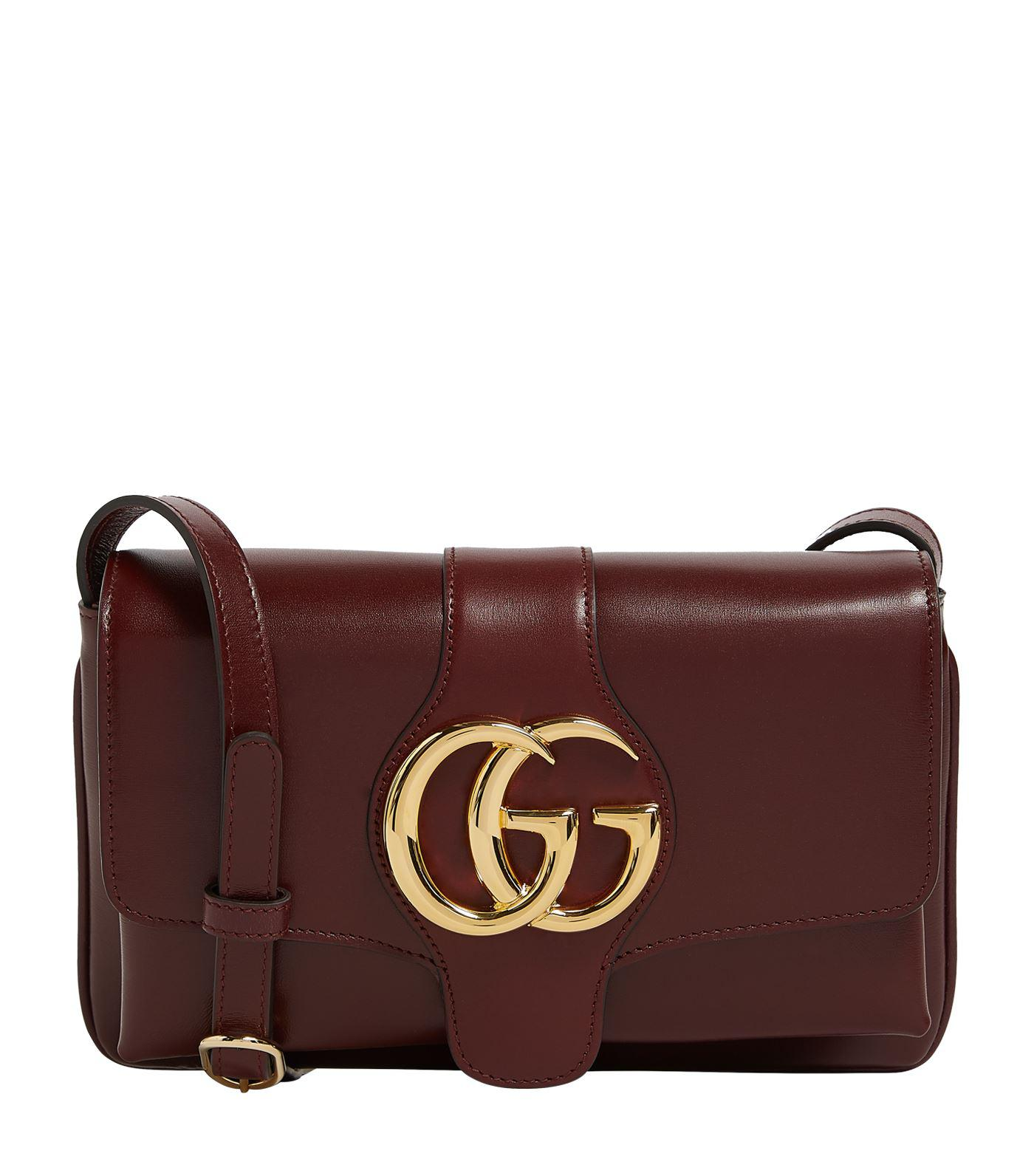Gucci Arli Shoulder Bag in Brown - Lyst fc75ad4e6fd78