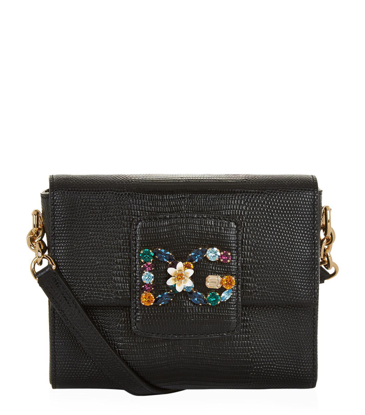 DG crossbody bag - Black Dolce & Gabbana f1cNnO